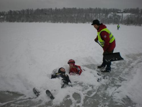 (20100317) Skøytetur til Frosktjern