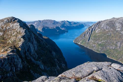 Mot Høgsfjorden