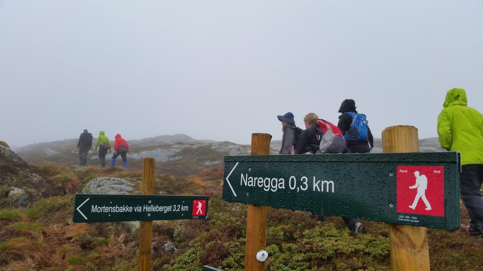 Tur på Naregga i Naustdal