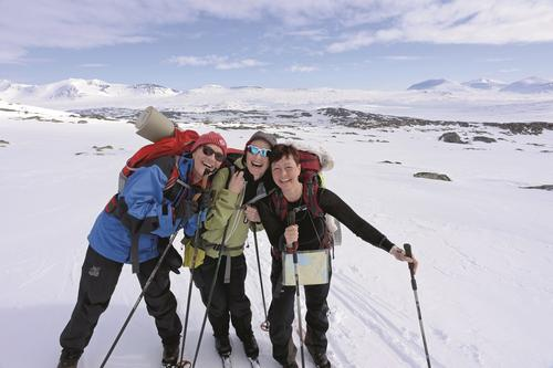 Fem fine fellesturer på høyfjellet