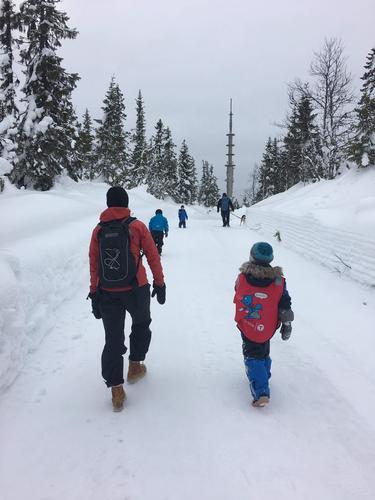 11. mars hadde Barnas Turlag fottur til Kjeldeknatten