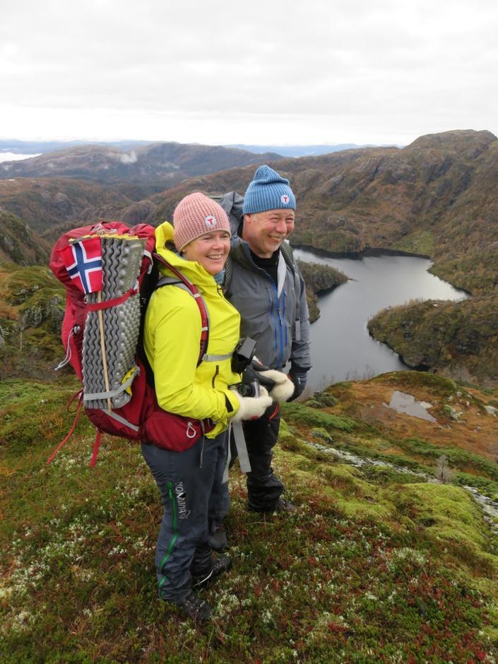 Turleiarane  Jane Britt og Kjell Ove.
