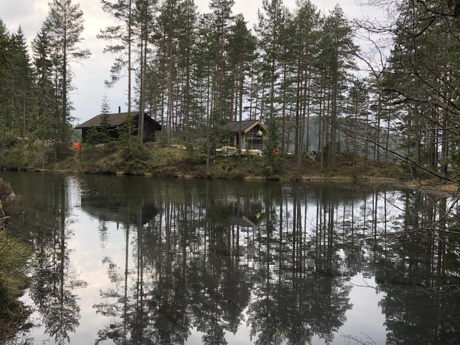 Søndag 12. mai åpner den nye hytta i Rælingen, Huldreheim.