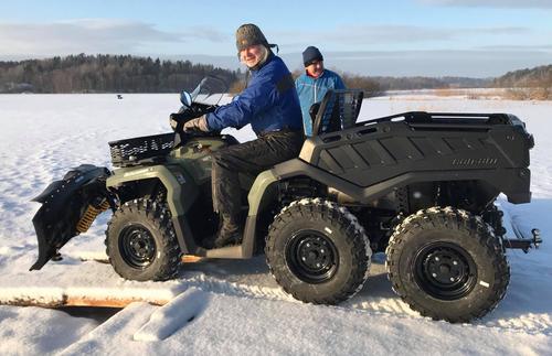 MELDT Stjålet OUTLANDER ATV