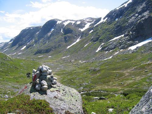 Kurs for merking av løyper i fjellet