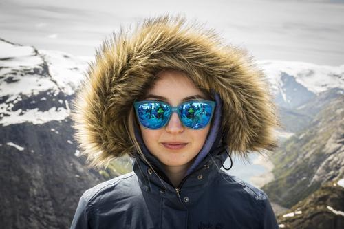 Solbrillejente