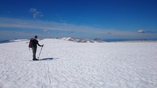 Skitur på Ålfotbreen