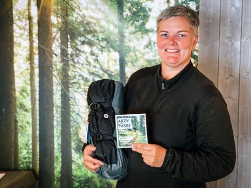 Frøydis Vaagsland vant Aktiv Påske!