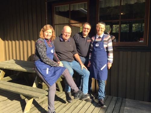 Ruslærn og sesongåpning på hyttene søndag 14. oktober