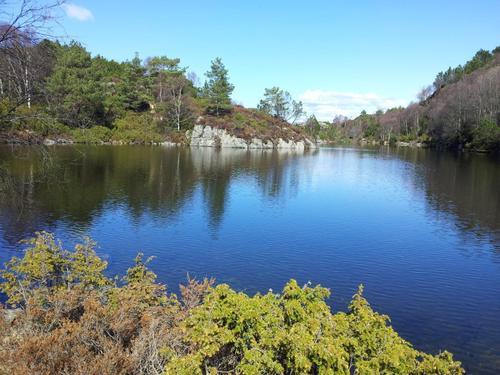 Søndagstur Fjæreidevatnet rundt