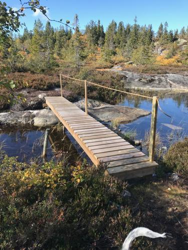 Ny bru på Knutefjell