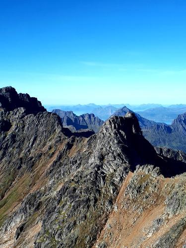Utsikt fra toppen av Geitgallien