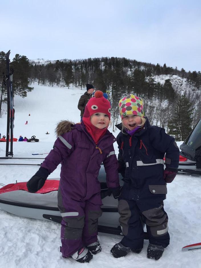 Barnas Turlag Årdal hadde utebursdag og Kom deg ut-dag i Seimsdalen