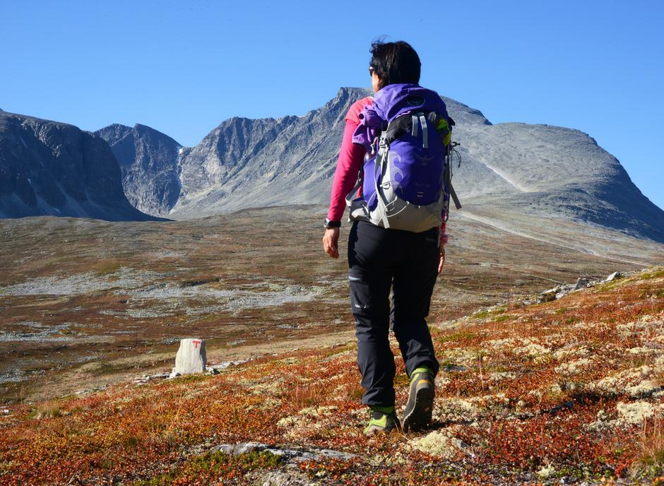 På streif i Langglupdalen i Rondane, en fin høstdag!