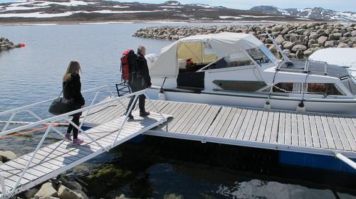 Rutetider båt til Mårbu