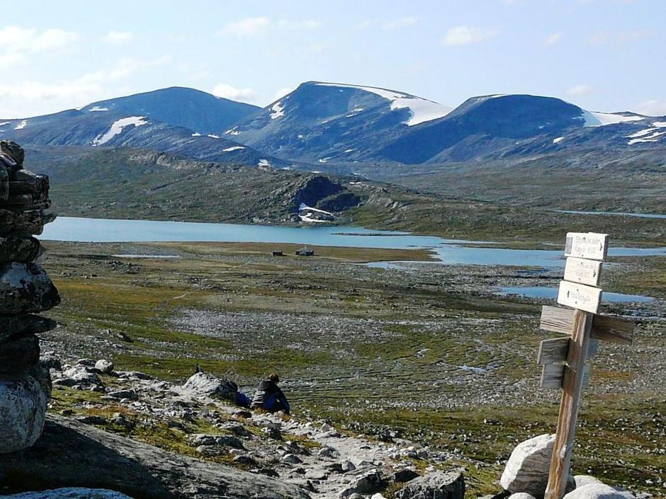 Sommer ved Åmotdalshytta
