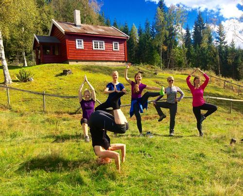 Yoga i Vestmarka