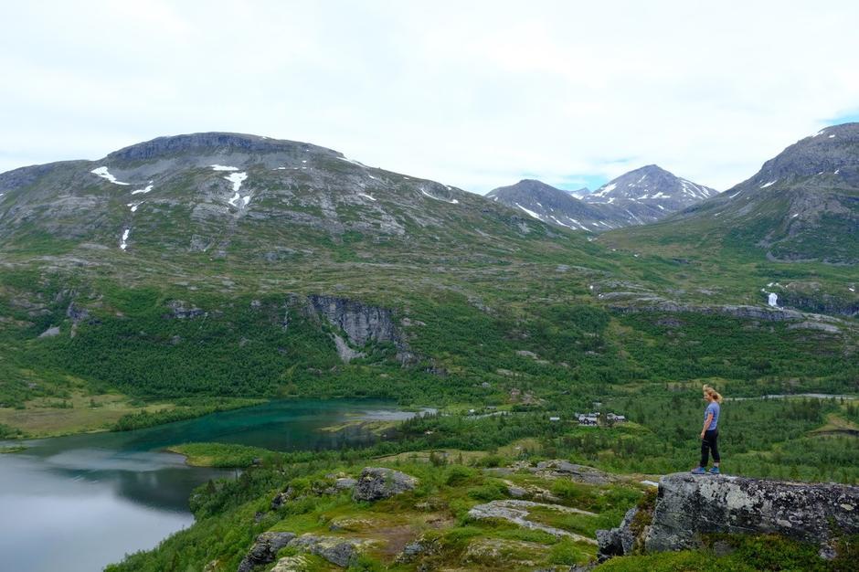 Reindalseter og Øvre Reindalen. 15. juli