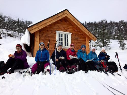 Snøen utfordra trugene