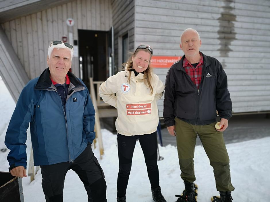 De frivillige har gjort en enorm innsats på dugnad for å vaske og tilpasse hyttene de nye  Covid-19 kravene