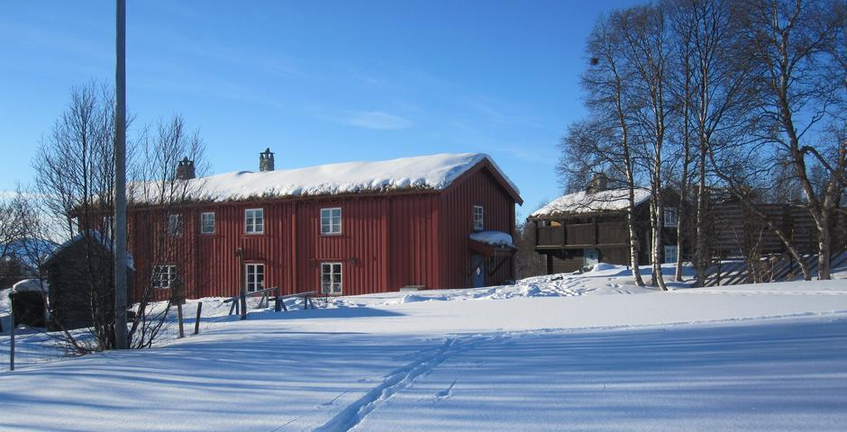 Svukuriset Turisthytte åpner til vinterferien.
