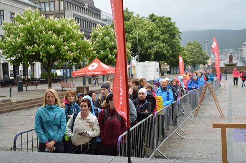Vellykket Topp7tur i regnvær
