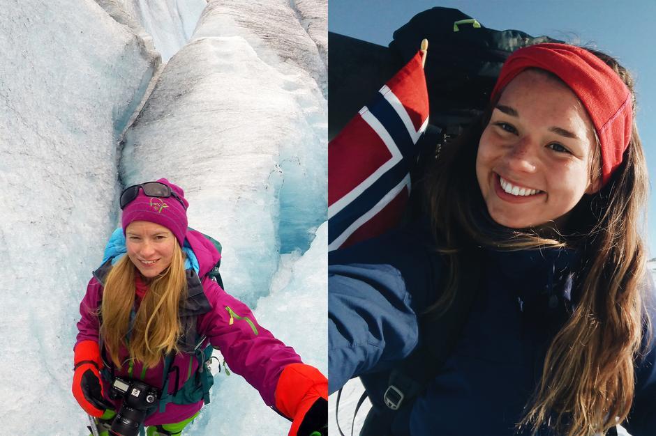 Fjellreporterne Line Hårklau og Åshild Eikemo Lundh kan du møte på i ulike fjellområder i juli, når de reiser rundt for å samle ungdommers historier om fjell- og hytteliv.