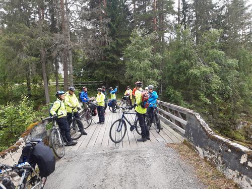 14. juli hadde Seniorgruppa sykkeltur i Sørre Etnedal