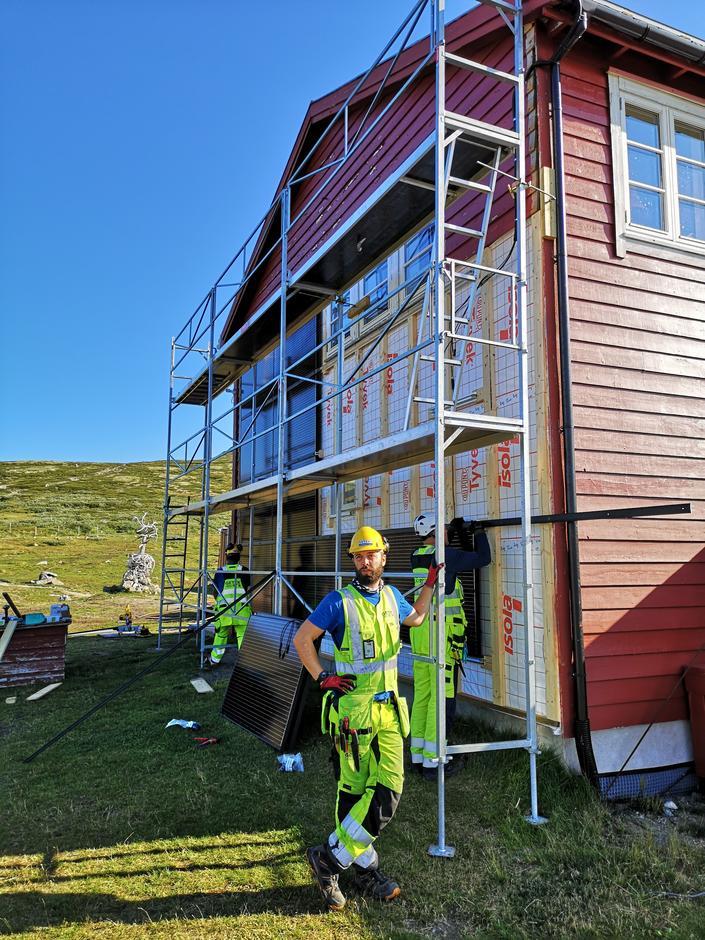 Rauhellren på Hardangervidda