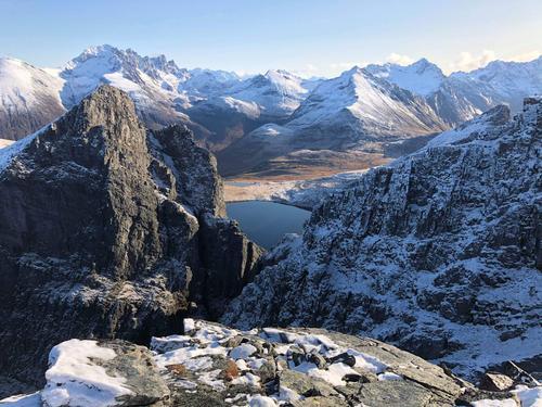 Utsikt fra Masdalhornet