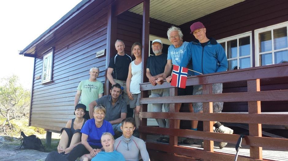Dugnadsgjengen fra DNT fjellsport Aust-Agder