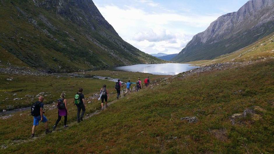 21.08.2016 - Flott tur til Eggenipa 1338 moh med ein super gjeng 😀 takk til turleiaren Per Jakob som losa oss til topps