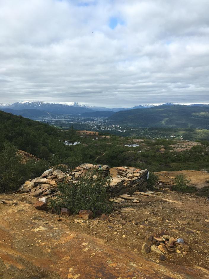 Fin utsikt fra Bertelberget.