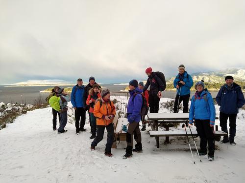 Utkikken mot vest på Storåsen januar 2019