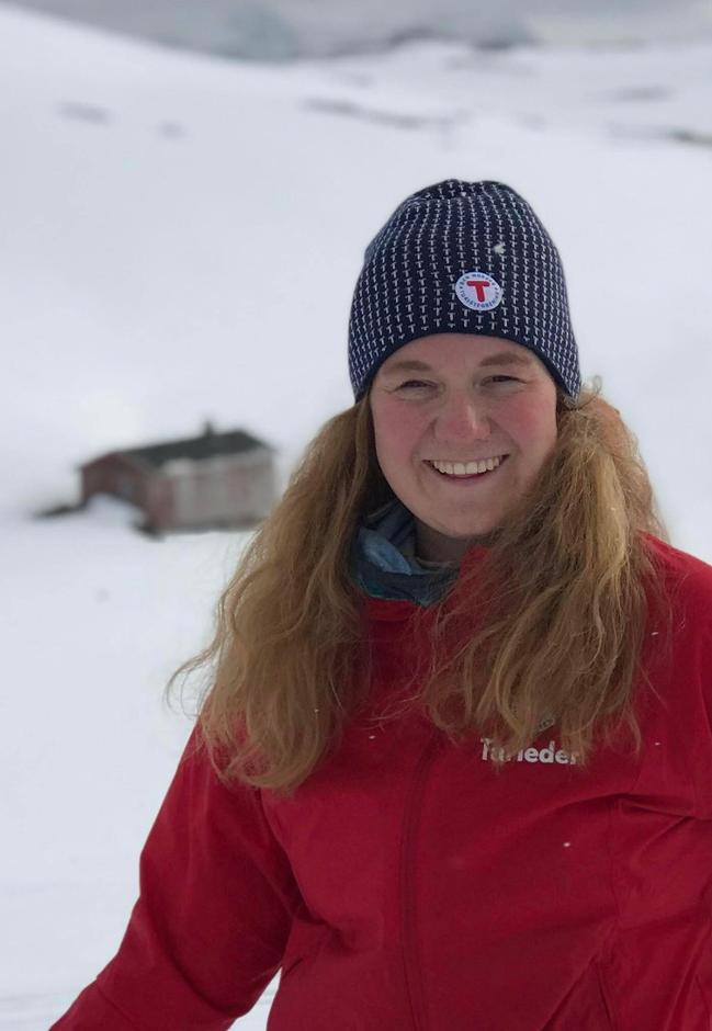 Karin Rustad, nyvalgt styreleder i Nordkapp og omegn turlag
