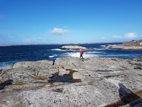 Turen til Gløvrebu og vidare til Sæle den 5. april 2017