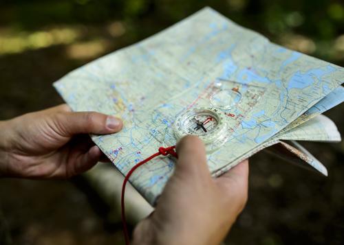 Kart- og kompasskurs for familier