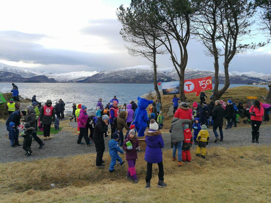127 kosa seg på feiring med BT Vågsøy