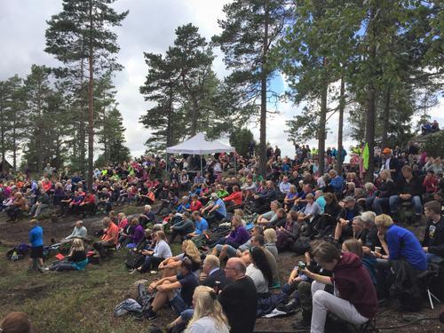 Nordstoga-konsert på Linnekleppen