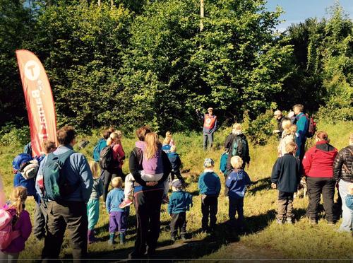 Barnas Turlag i Oppegård på tur