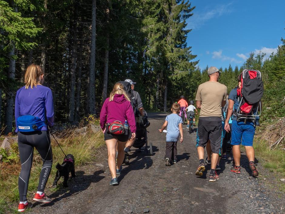 Familiedagen på Råsjøen