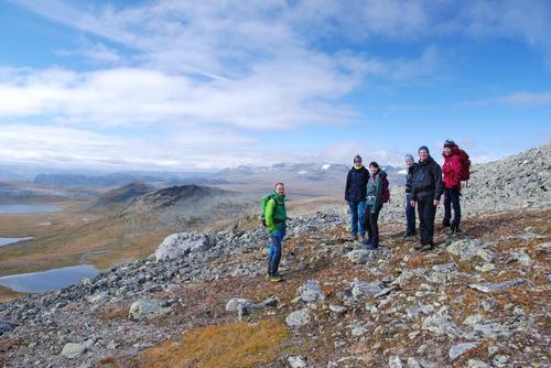 2. september var det fellestur til Kvednahøe nord for Vinstervatnet