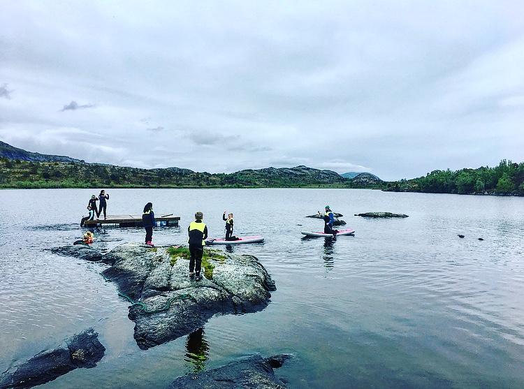 Stand Up Paddling i Bodø