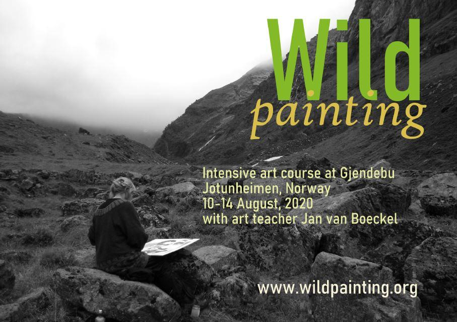 Intensive art course at Gjendebu 2020