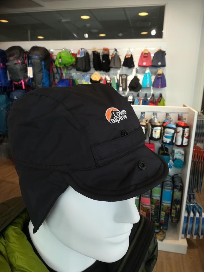 Lowe Alpine Classic Mountain Cap Black, Medlemspris 425,- Veiledende 499,-