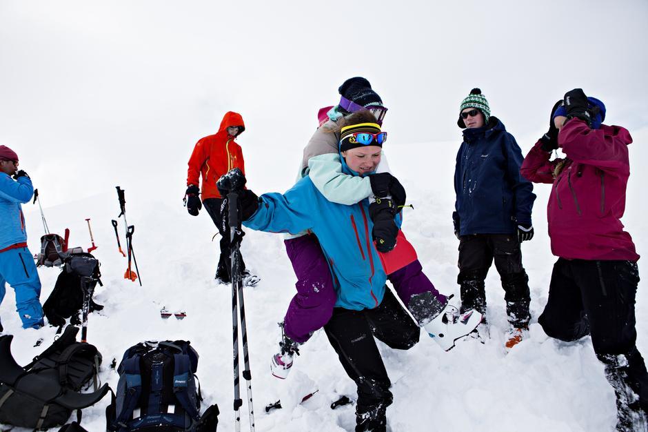 Bli med DNT fjellsport på skredkurs i vinter.