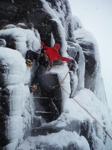 Miksklatring ved Rjukandefoss (Hemseda)