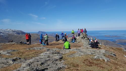 7-fjellstur i storslagen utsikt