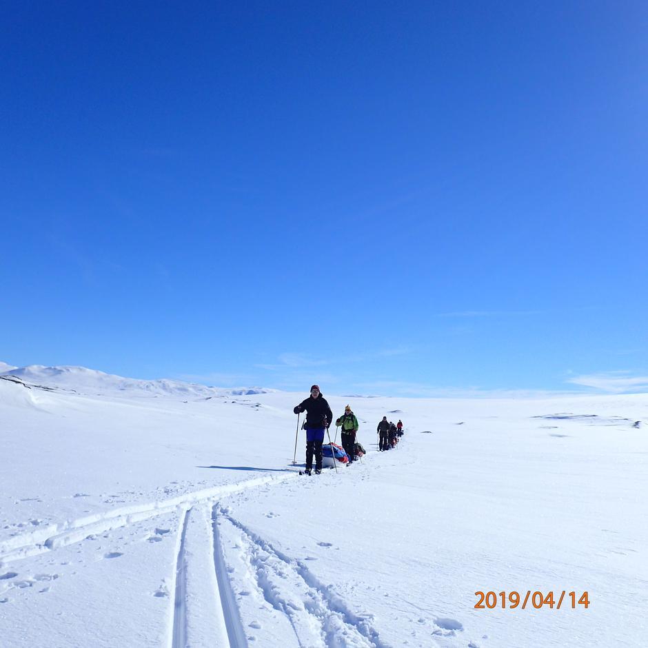 Vintertur i Børgefjell