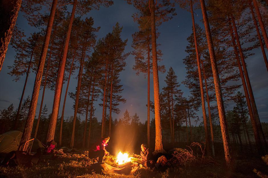 Stemning på Finnskogen